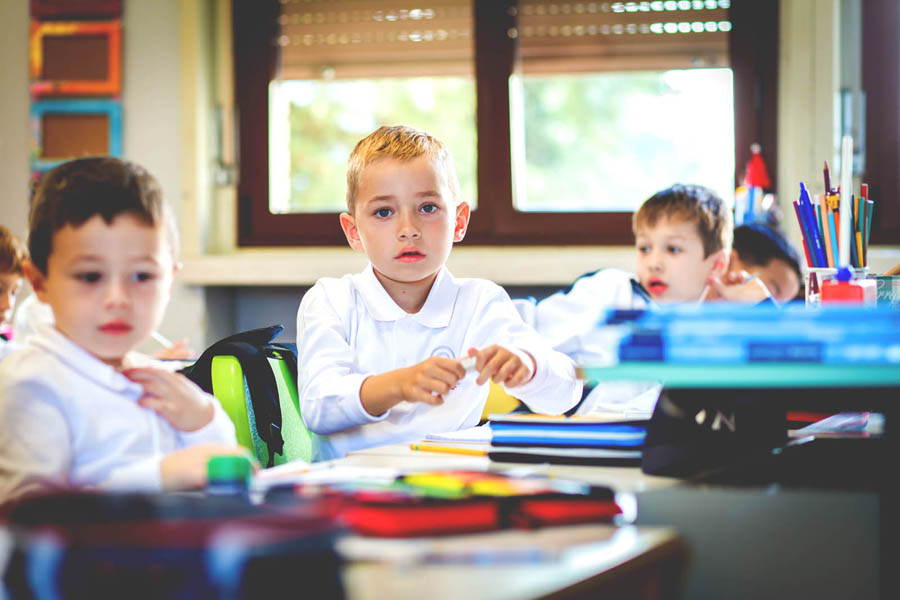 imparare a scuola primaria Canossiane Legnago