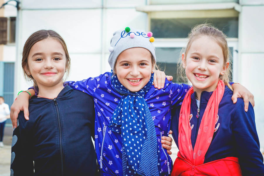 amicizie a scuola primaria Canossiane Legnago